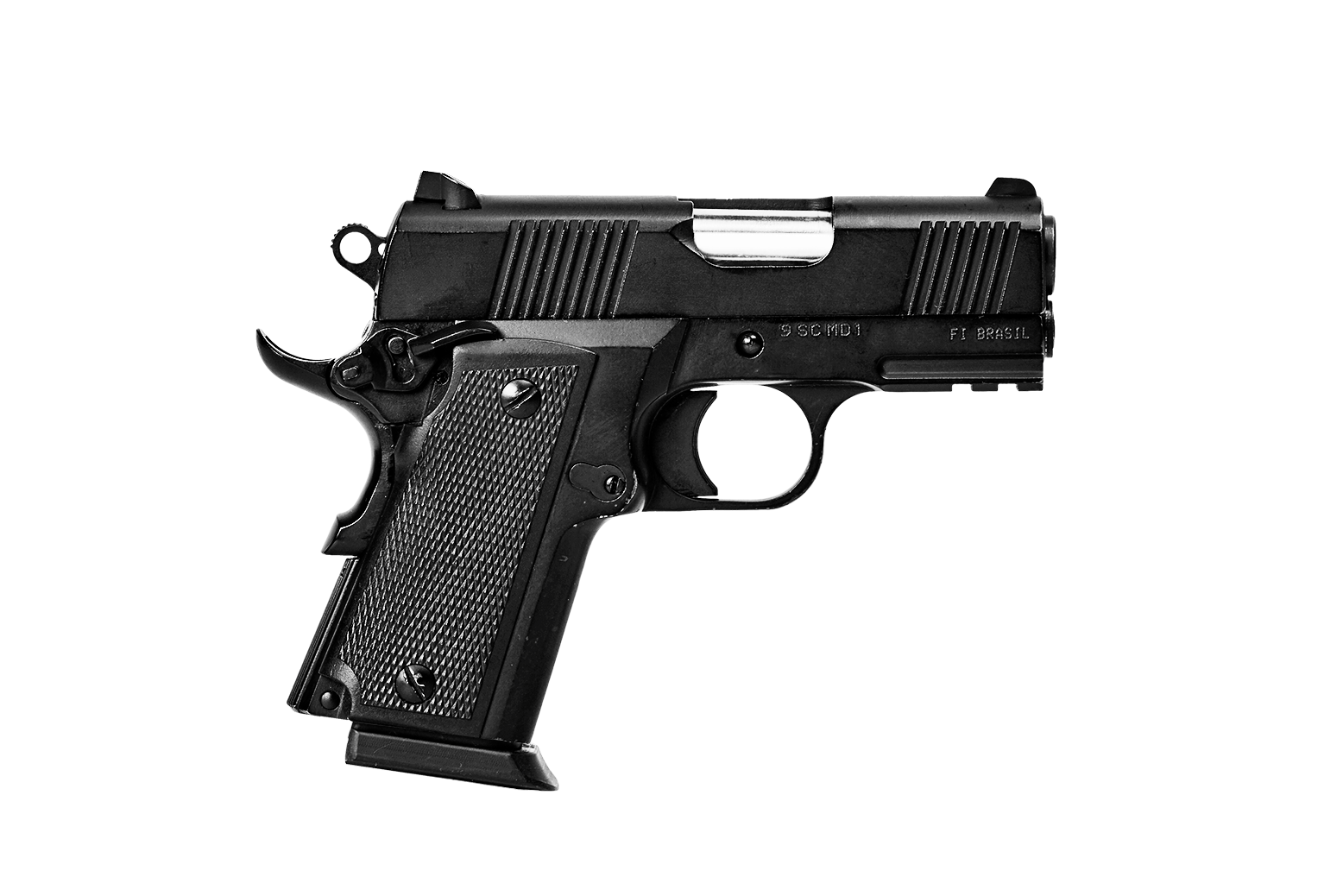 Pistola 9mm SC MD1 - Com extensor do carregador